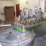 stół obrotowy z rozlewnią płynów technicznych